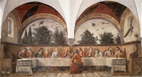 ta house painters domenico ghirlandaio het laatste avondmaal bijbel en kunst