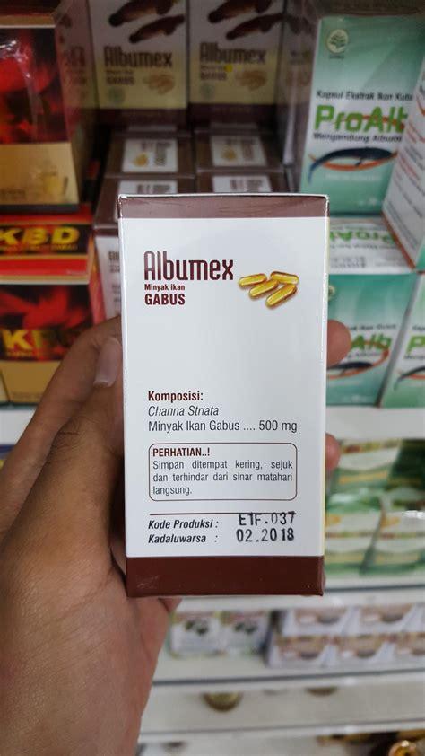 Albumex Minyak Ikan Gabus Albumin kapsul albumex alzafa store