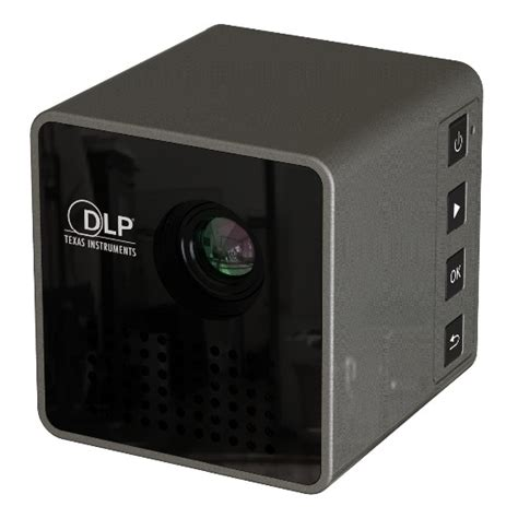unic p1 wifi dlp proyektor mini 640p 30 lumens black jakartanotebook