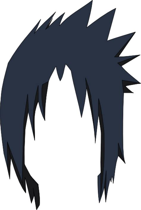 sasuke hair lol clip art  clkercom vector clip art