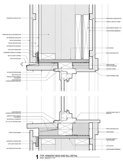 Upvc Window Sections Dwg by The Bldgtyp Operation Fenestration