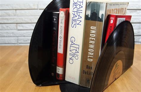 How To Make Records How To Make Vinyl Record Bookends Without Burning Yourself Diy Crafts Groupon