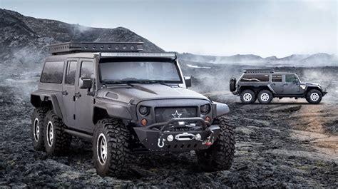 Jeep G Company G Patton Builds Jeep Wrangler 6x6