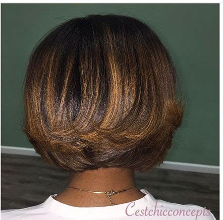 layered bob african american hair 30 popular african american short bob haircuts bob
