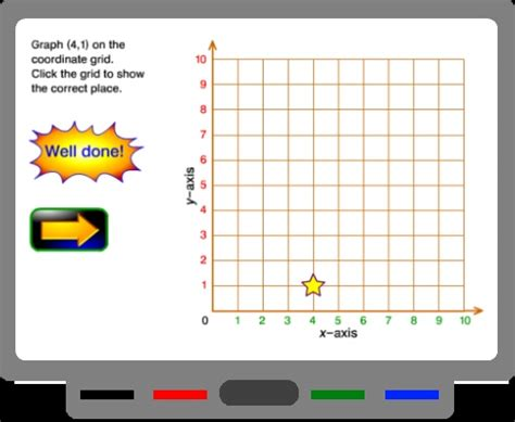 pattern games for the smartboard coordinate grid game for smart board smartboard and