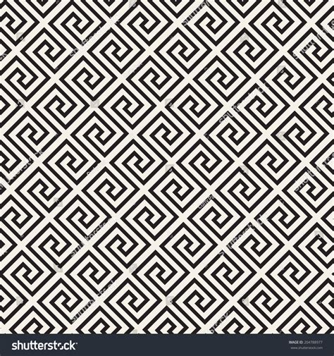 greek pattern texture vector seamless pattern modern stylish texture stock