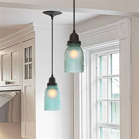 Jar Lights For Kitchen 25 Best Ideas About Blue Jars On Color Jars Painting Canning Jars And