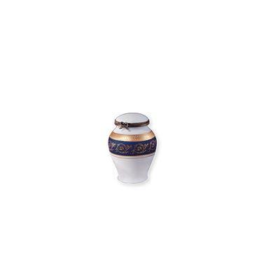 azur limoges porcelainkeepsake urn