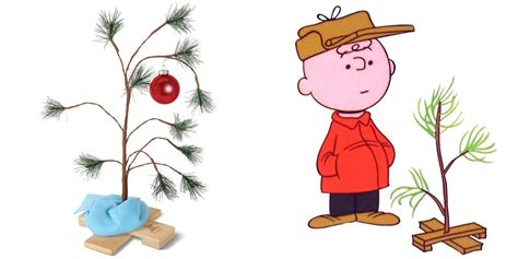 large charlie brown christmas tree this 24 inch brown tree w blanket needs your 8 9to5toys