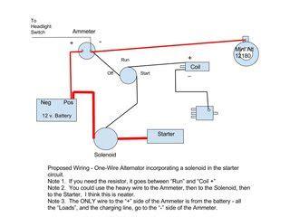 wire alternator   farmall cub