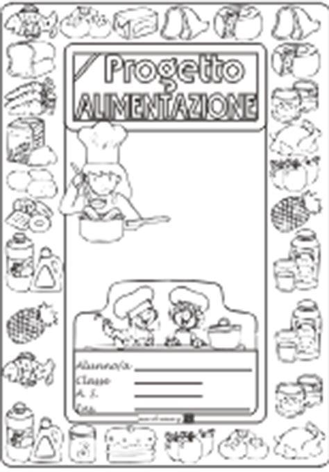 progetto alimentazione scuola copertine per quaderni di scuola maestra