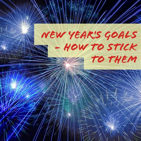 new year s goals how to stick to them thrifty mommas tips