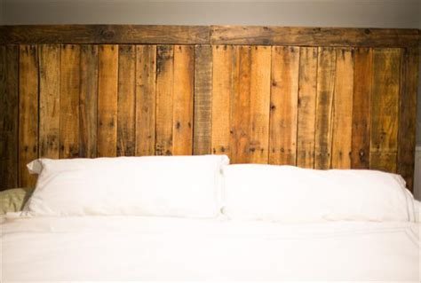 diy pallet headboard built  country style pallet