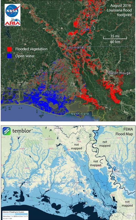 louisiana flood maps does flood insurance need a raft temblor net