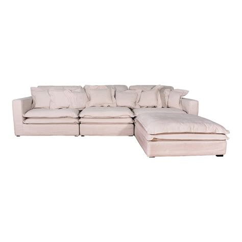 3 seater chaise slouch 3 seater chaise sofa natural textured weave package
