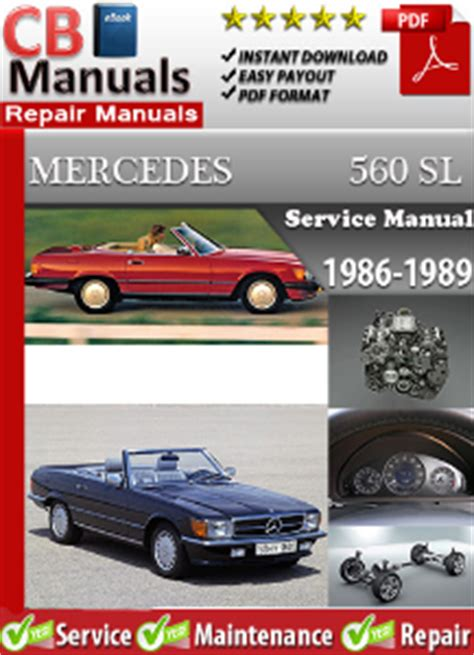 service manual book repair manual 1986 mercedes benz w201 electronic valve timing service mercedes 560sl 1986 1989 factory manual download service repair manuals