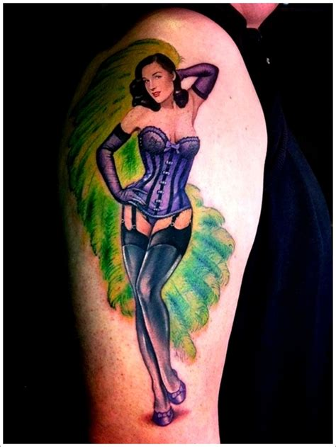 images tattoo pin up pin up girl tattoo on left half sleeve