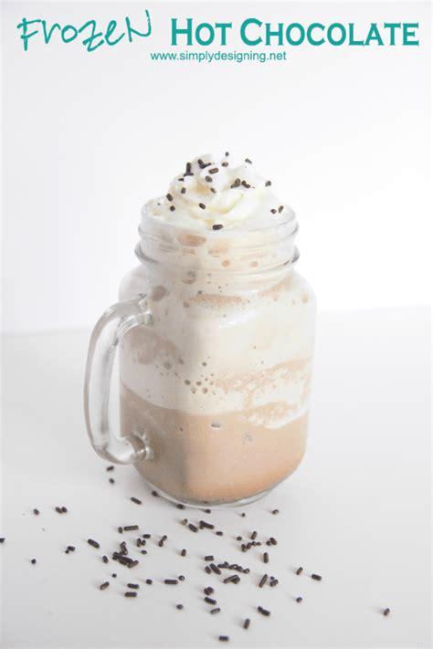 frozen hot chocolate frozen yogurt frozen hot chocolate recipe dishmaps