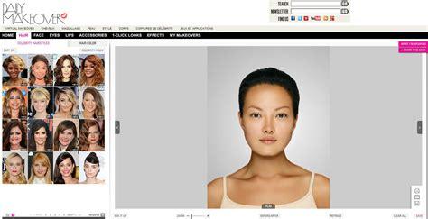 Essayer Une Coupe De Cheveux En Ligne Gratuit by Logiciel Coiffure Femme Virtuelle Gratuit Salon Of
