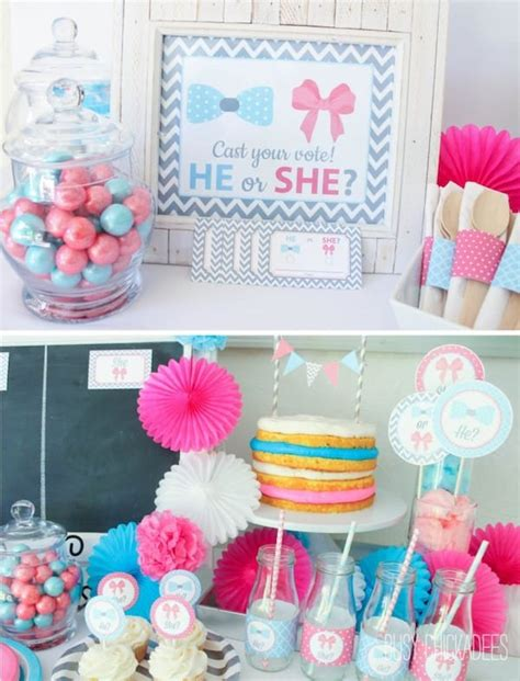 Gender Reveal Decoration Ideas by 10 Baby Gender Reveal Ideas Baby Shower Partyideapros