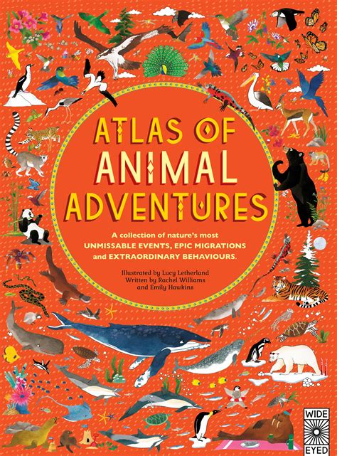 atlas of animal adventures quarto kids books