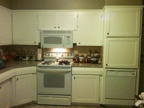 kitchen cabinet doors diy refaced the cabinet doors created a quot frame quot with quot craft