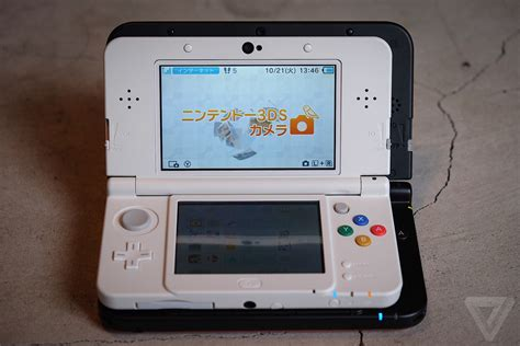 new nintendo 3ds 3ds xl new nintendo 3ds review the verge