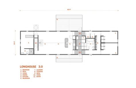 long house plans longhouse floor plans 3 bedroom architect designed plan