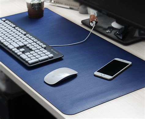 gaming desk mat aliexpress buy large mouse pad leather desk pad