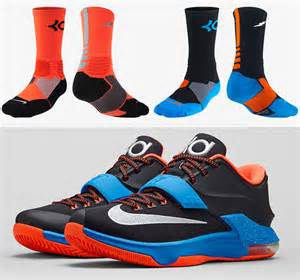Converse Light Blue Nike Kd 7 On The Road Socks Sportfits Com