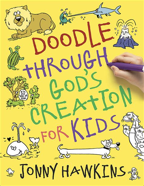 doodle creation doodle through god s creation for kidsharvest house