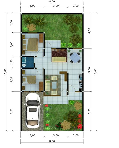 design interior rumah type 54 jasa arsitek desain arsitektur online design gambar denah