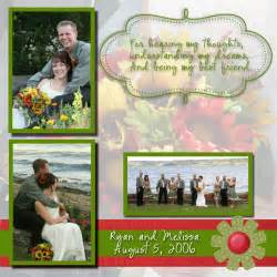 wedding scrapbook page porch swing creations my digital studio wedding scrapbook