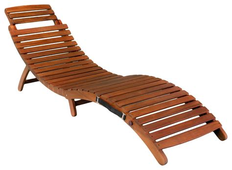 Folding Chaise Lounge Chair Lisbon Folding Chaise Lounge Chair Contemporary Outdoor Chaise Lounges By Great Deal Furniture