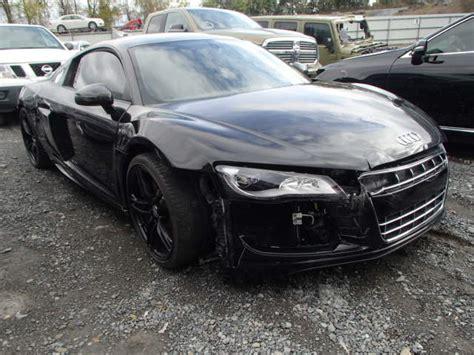 Salvage Audi R8 Salvage Audi R8 5 2l 10 2012