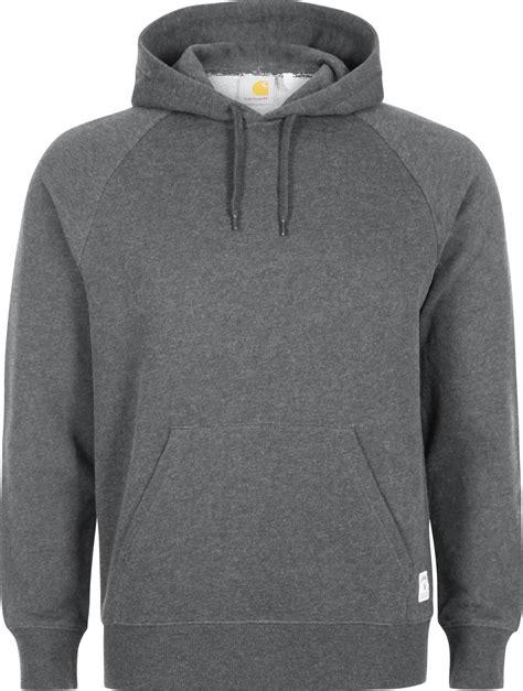 Vior Hodie carhartt wip hooded holbrook hoodie grau meliert