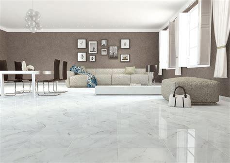 Kitchen Flooring Design Ideas Imperial Carrara Marble Effect Floor Tile