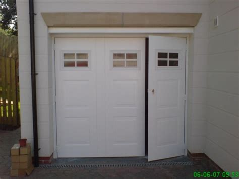 A P Garage Doors by Side Hinged Steel Garage Doors Protec Garage Doors Ltd