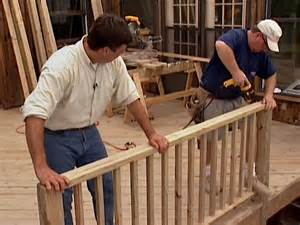 Decking Handrail And Spindles How To Build Custom Deck Railings How Tos Diy