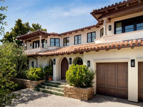 mediterranean home style mediterranean style home exterior ranch style home