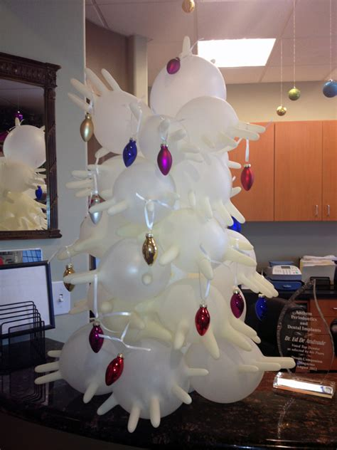 rubber glove christmas tree 7 top upcoming decoration ideas 2018 pouted magazine