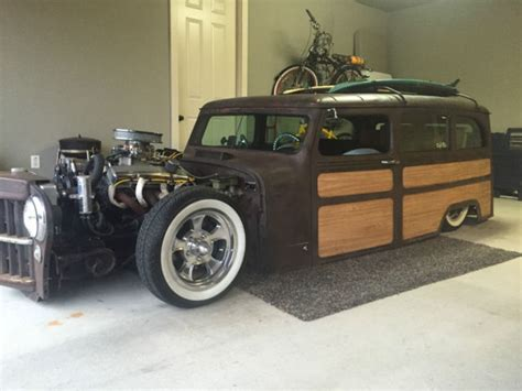 Willys Jeep Rat Rod 1961 Jeep Willys Rat Rod For Sale Photos Technical