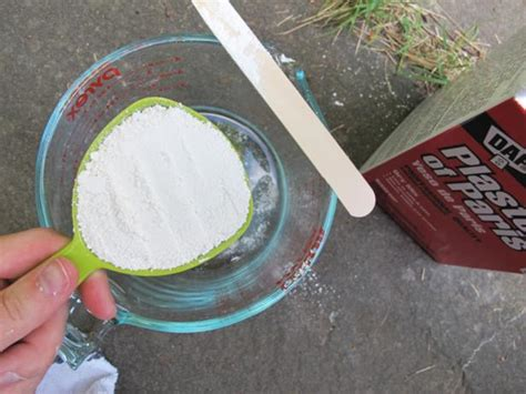 chalk paint using plaster of learn how to make your own chalk style paint how tos diy