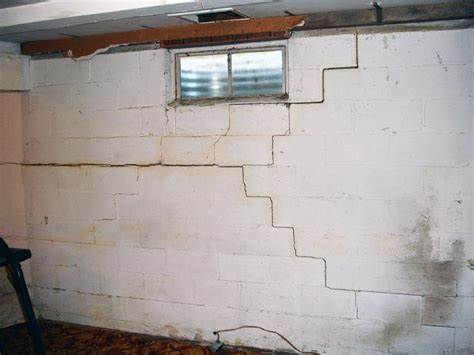 walls in basement cracking basement walls in akron oh ohio state waterproofing