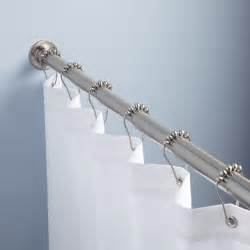 Shower Curtain Rod by Green Shower Curtain Rod Bathroom