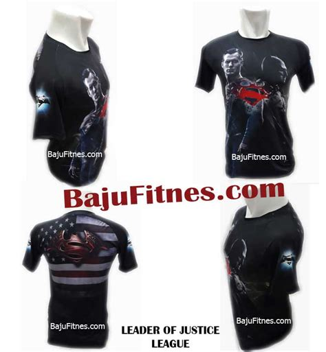 Kaos Ordinal Justice League 04 089506541896 tri jual kaos compression superman di
