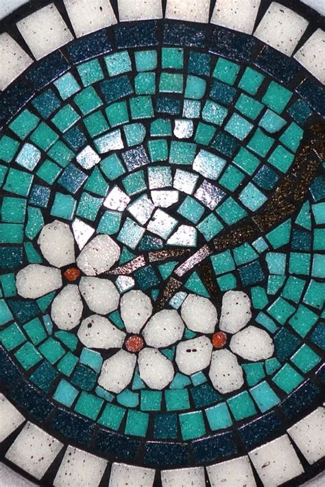 pattern for mosaic stepping stones mosaics stepping stones and flower patterns on pinterest