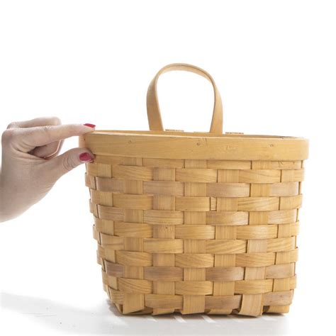 chipwood wall basket baskets buckets boxes home decor