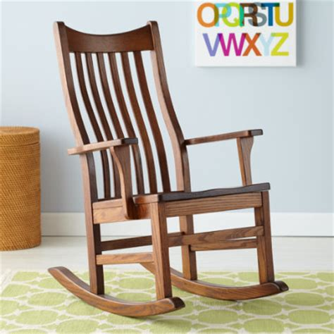 Wooden Rocking Chairs For Nursery Seating Room Decor