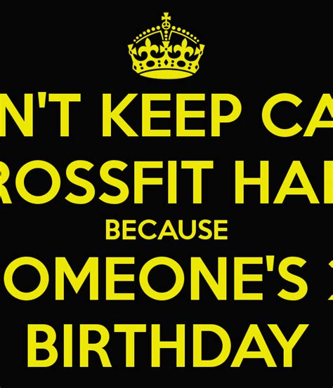 Crossfit Birthday Meme - dont forget to cake ideas and designs
